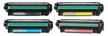HP 507 B/C/M/Y Refurbished Toner VALUE Pack